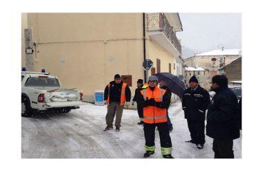 Gioia Sannitica, macchina amministrativa a lavoro per l'emergenza neve