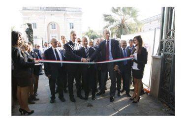 Il Presidente del Coni Malagò inaugura la nuova sede provinciale