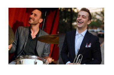 Il batterista napoletano Elio Coppola incontra Benny Benack III da New York al Music Art di Napoli