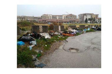 Rifiuti abbandonati in strada, De Matteis (M5S) chiede intervento ditta e propone multa alla DHI