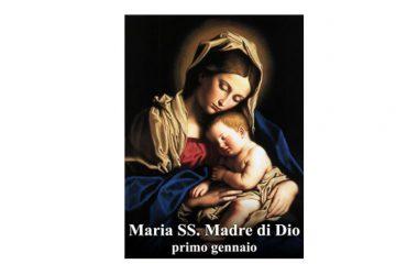 IL SANTO di oggi 1° Gennaio –  Maria Santissima Madre di Dio