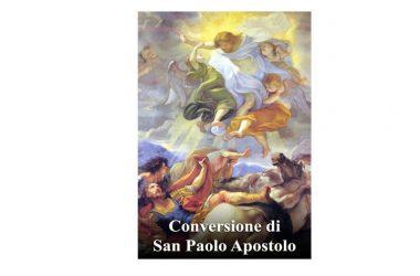 IL SANTO di oggi 25 Gennaio – Conversione di San Paolo Apostolo