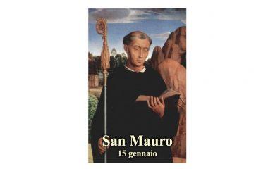 IL SANTO di oggi 15 Gennaio – San Mauro