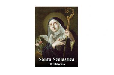 IL SANTO di oggi 10 Febbraio – Santa Scolastica