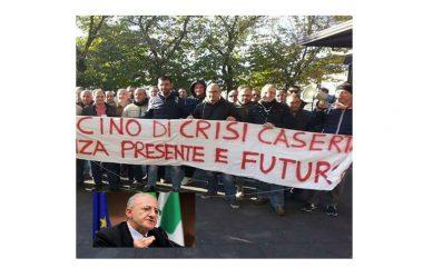 Il Bacino di Crisi di Caserta lancia l'appello ai lavoratori per il 28 Febbraio