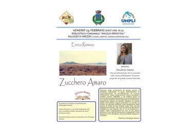 Il 24 Febbraio prossimo. Vairano Patenora si 'ferma' per la presentazione del libro 'Zucchero Amaro' di Mariangela Semola