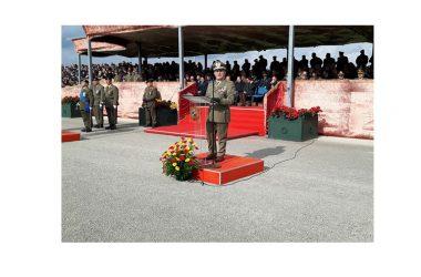 """A Capua i volontari hanno giurato fedeltà alla Patria al cospetto della bandiera di guerra del 17° Reggimento """"Acqui"""""""