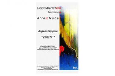 """Marcianise, """"Entità"""" mostra personale del Maestro Angelo Coppola da un'idea di Antonio di Grazia"""