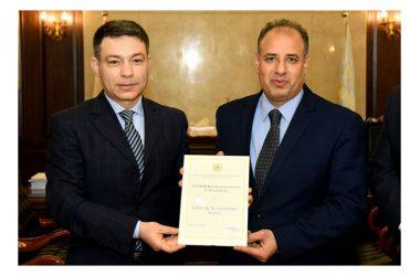 Alessandria d'Egitto conferimento del XXXV Premio Internazionale del Patrimonio