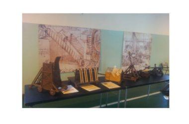 Una mostra su Leonardo da Vinci all'Istituto LORENZINI di Caserta