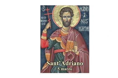 IL SANTO di oggi 5 Marzo – Sant' Adriano di Cesarea