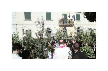 Cancello ed Arnone: Benedizioni delle Palme