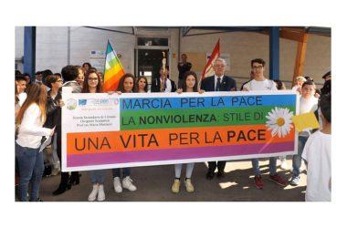 La Fiaccola della Pace a Cancello ed Arnone Marcia per la PACE in SIRIA e nel mondo