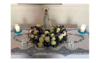 Cancello ed Arnone: Visita della Madonna di Fatima presso la famiglia di Gianni Cacciapuoti