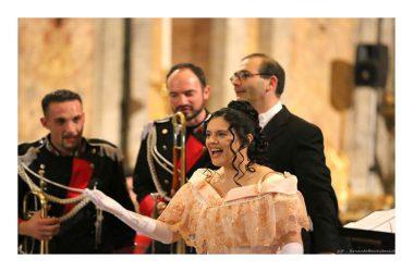"""Quinto anniversario del complesso Bandistico """"Città di Caserta"""" con il soprano casertano Teresa Sparaco"""