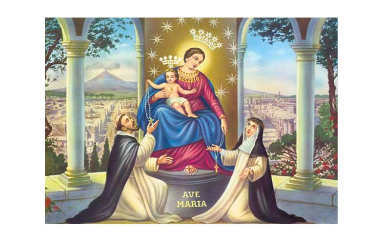 Oggi 8 Maggio si festeggia la Madonna del Rosario di Pompei