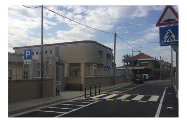 Inaugurazione del nuovo varco di ingresso della scuola elementare comunale di via Carozza