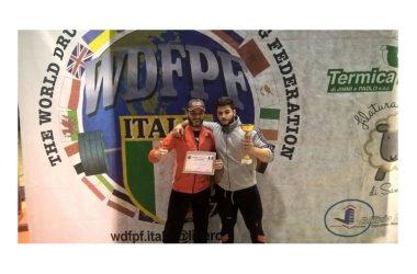 Maddaloni, Izzo Giuseppe campione alla Gara Internazionale WDFPF di Biella, della All Fit