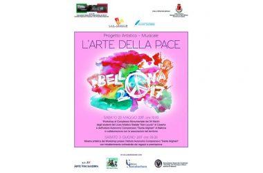 """Progetto Artistico-Musicale: """"L'Arte della Pace"""" – una due giorni tra arte e musica"""