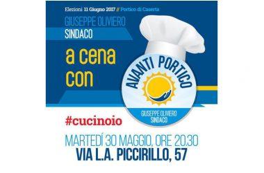 A cena con Avanti Portico: cresce l'entusiasmo intorno al gruppo guidato da Giuseppe Oliviero