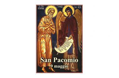 IL SANTO di oggi 9 Maggio – San Pacomio