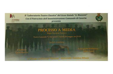 Dopo i successi di Milano e di Siracusa,  gli studenti del Manzoni venerdì calcano il palco del teatro comunale di Caserta