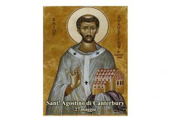 IL SANTO di oggi 27 Maggio – Sant' Agostino di Canterbury