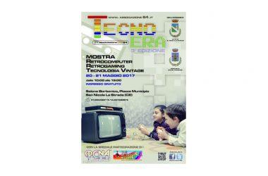 Terza edizione della mostra Tecno-Era giorni 20 e 21 Maggio