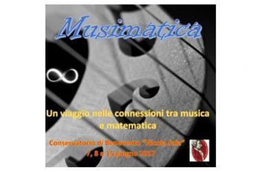 LE AFFINITA' TRA MUSICA E MATEMATICA IN UN SEMINARIO, IN SVOLGIMENTO PRESSO IL CONSERVATORIO MUSICALE DI BENEVENTO