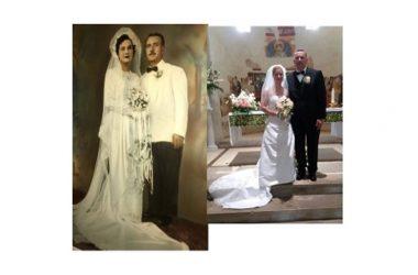 Dal Delaware per unirsi in matrimonio nella stessa chiesa dei genitori