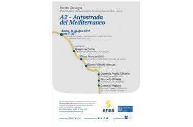 Presentazione A2 Autostrada del Mediterraneo con Graziano Delrio, Dario Franceschini, Gianni Vittorio Armani, Gerardo Mario Oliverio, Marcello Pittella, Corrado Matera