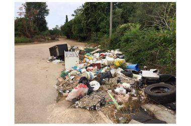 Pignataro Maggiore Amianto e  rifiuti  speciali  smaltiti  illecitamente