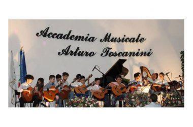 """XV^ Saggio di fine anno degli allievi dell'Accademia musicale """"Arturo Toscanini"""" del M° Franco Damiano"""