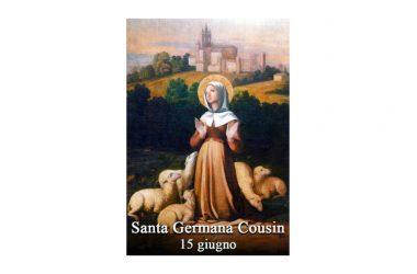 IL SANTO di oggi 15 Giugno 2017 – Santa Germana Cousin