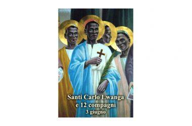 I SANTI di oggi 3 Giugno – Santi Carlo Lwanga e 12 compagni
