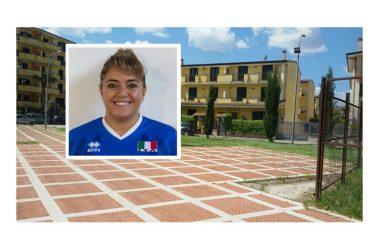 Capodrise, torneo di eco-volley in Largo San Donato. Madrina d'eccezione: Alessandra Vitale