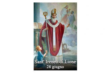 IL SANTO di oggi 28 giugno – Sant' Ireneo di Lione