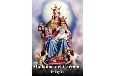LA SANTA di oggi 16 luglio – Beata Vergine Maria del Monte Carmelo