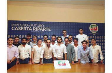 """Forza Italia Giovani – Caserta: """"Nominati i membri delle commissioni. Pronti a metterci in gioco per la Città"""""""
