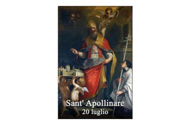 IL SANTO di oggi 20 Luglio – Sant' Apollinare di Ravenna