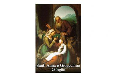 I SANTI di oggi 26 Luglio – Santi Anna e Gioacchino