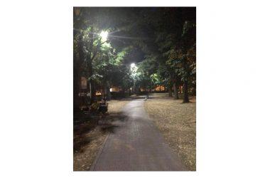 Al via la nuova illuminazione pubblica alla Rotonda