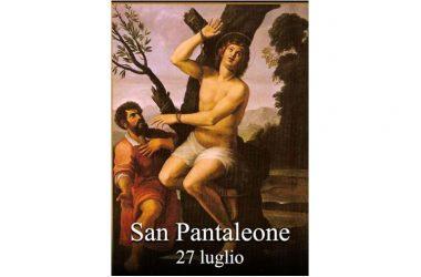 IL SANTO di oggi 27 Luglio – San Pantaleone