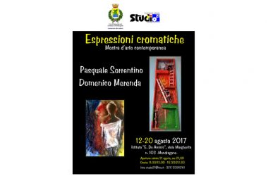 Sorrentino e Merenda in mostra a Mondragone