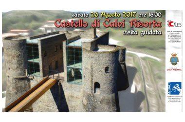 Visita guidata al Castello di Calvi Risorta sabato 26 Agosto 2017