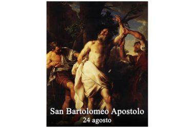 IL SANTO di oggi 24 Agosto 2017 – San Bartolomeo