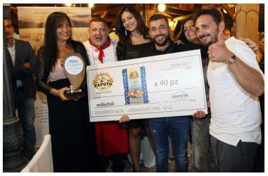 Gran successo a l'Arcadia di Quarto per Pizza Margherita 2017