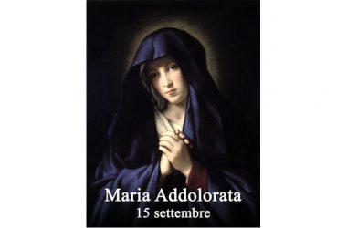 IL SANTO di oggi 15 Settembre 2017 – Beata Vergine Maria Addolorata
