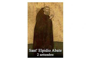 IL SANTO di oggi 2 Settembre – Sant' Elpidio
