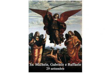 I SANTI di oggi 30 Settembre – Santi Michele, Gabriele e Raffaele – Arcangeli